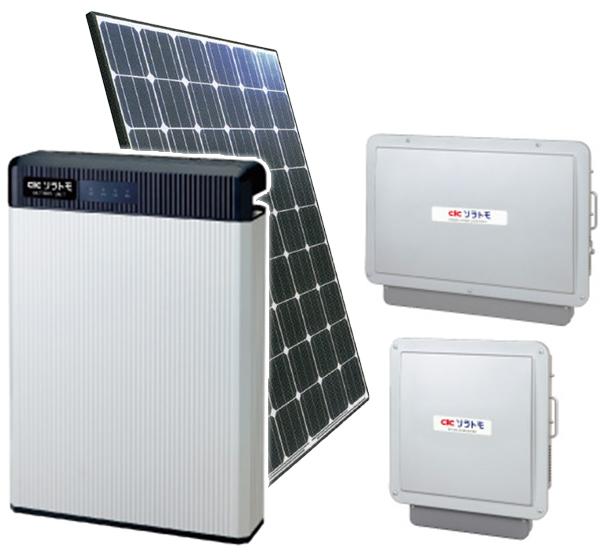 長州産業 太陽光発電システム・蓄電池セット スマートPV